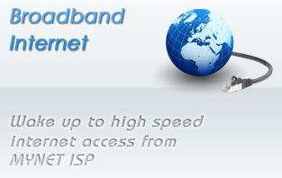Broad Band Internet